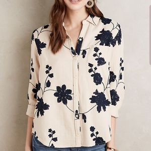 Isabella Sinclair Embroidered Shadowbloom Top